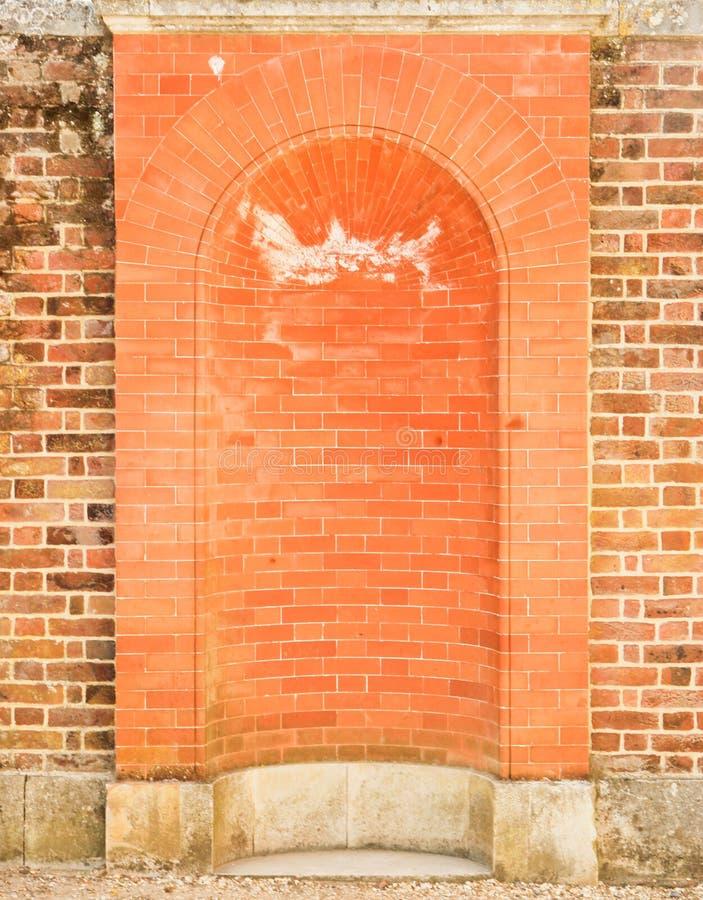 Red brick vault royalty free stock photos