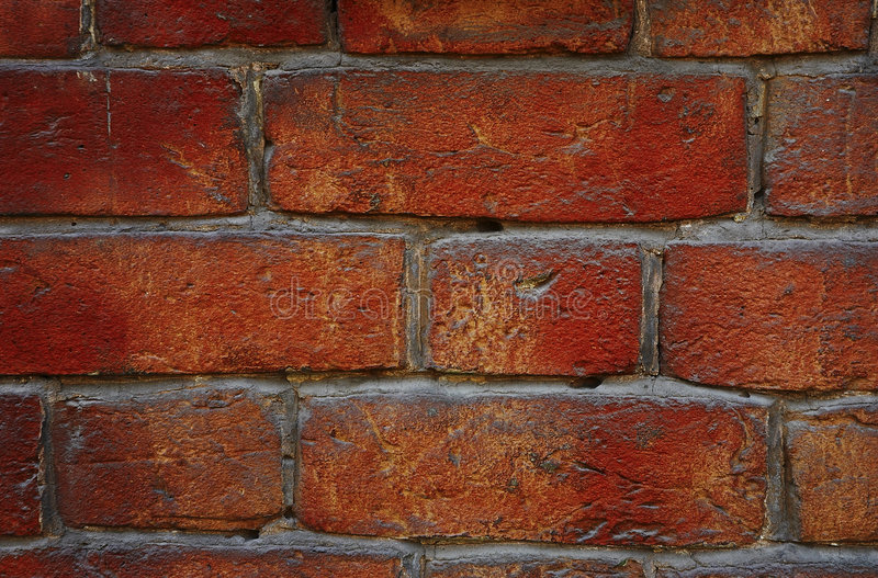 Download Red brick wall stock photo. Image of good, quality, design - 156936