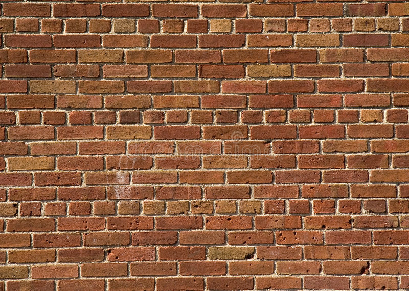 Download Red Brick Wall stock photo. Image of building, hard, orange - 2233988