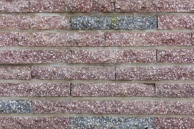 Red  brick wall background house background stock photo