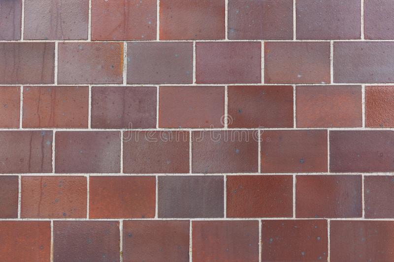 Red  brick wall background layerwork stock images