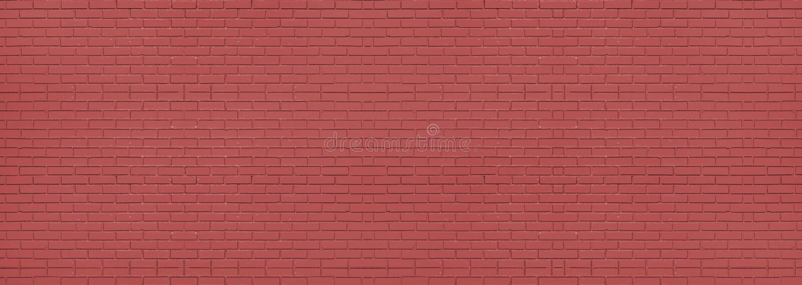 Red brick wall background and texture. Wallpaper , pattern brick royalty free stock photos