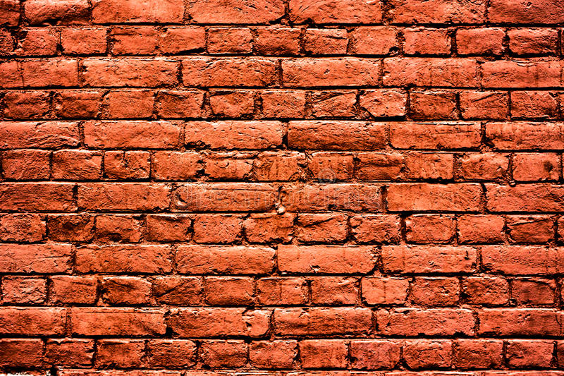 Red brick wall high resolution texture royalty free stock photography