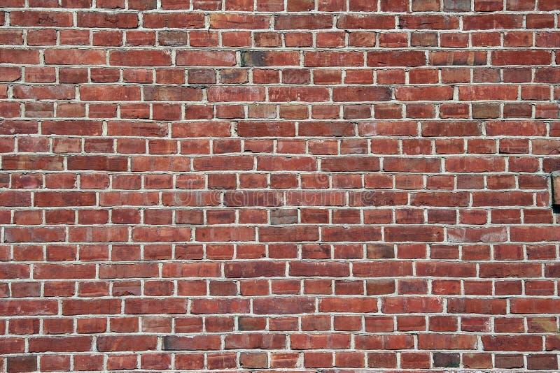 Red brick wall - horizontal stock photography