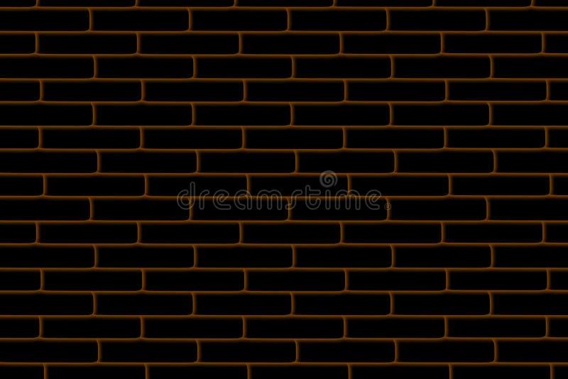 Red brick wall, modern new brickwork, background, texture, pattern royalty free illustration
