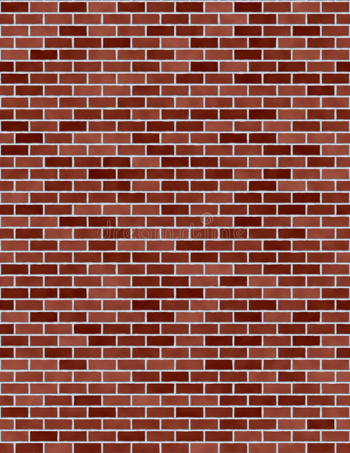 Red Brick Wall seamless royalty free stock photography