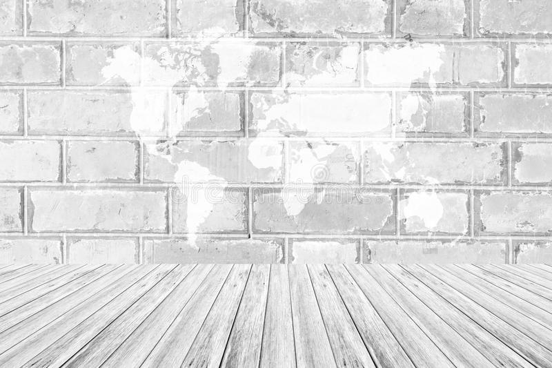 Red brick wall texture surface with wood terrace and world map stock download red brick wall texture surface with wood terrace and world map stock image image gumiabroncs Gallery