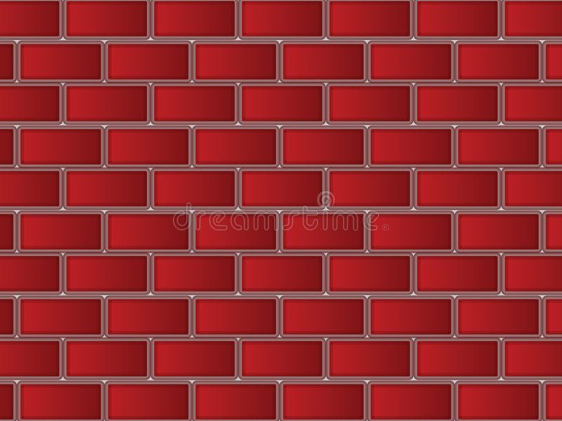 Download Red Bricks stock vector. Image of beautiful, light, element - 6190851