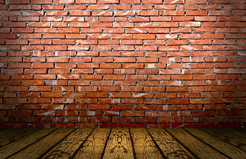 Red Bricks Stage royalty free stock images
