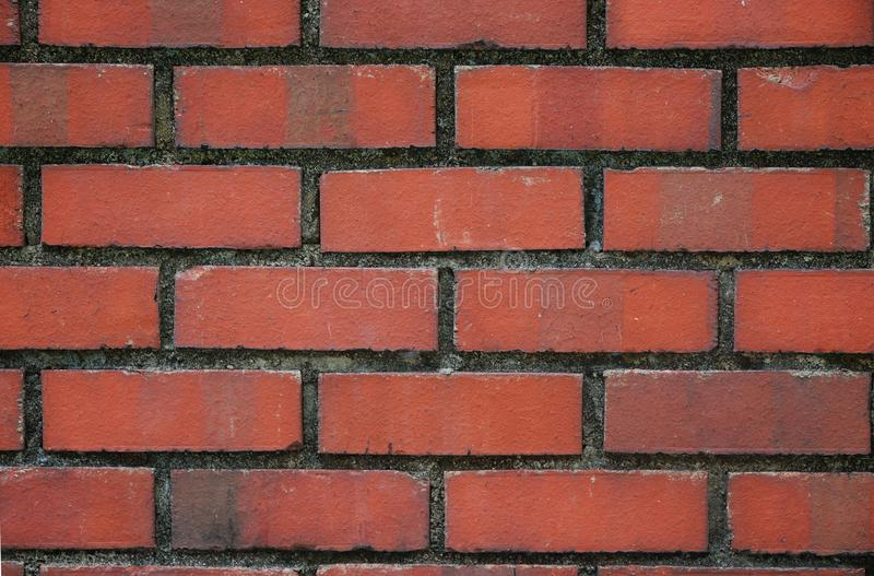 Red Bricks Wall stock photography