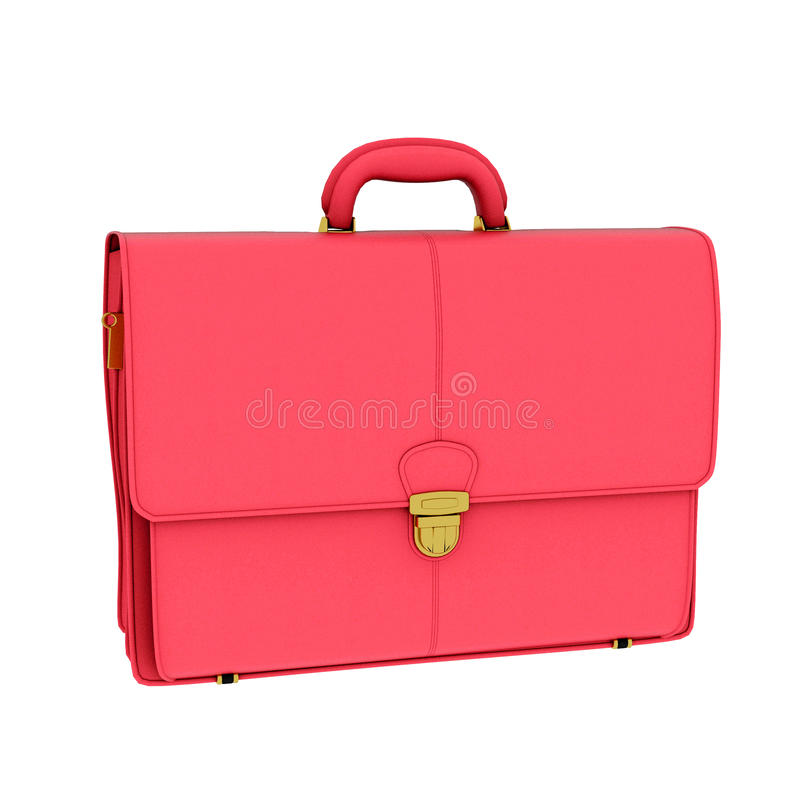 Red Briefcase Royalty Free Stock Photo