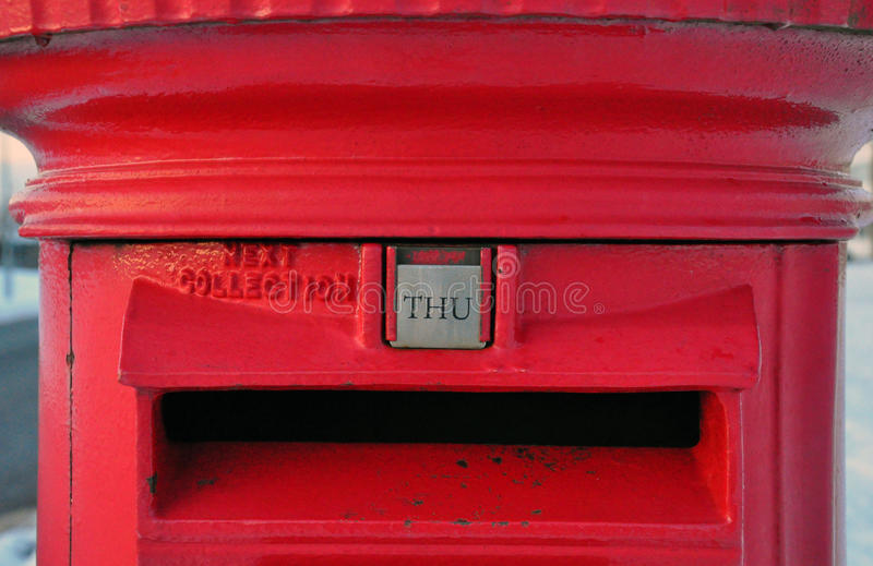 Download Red British Post Box stock image. Image of mouth, stamp - 12389353