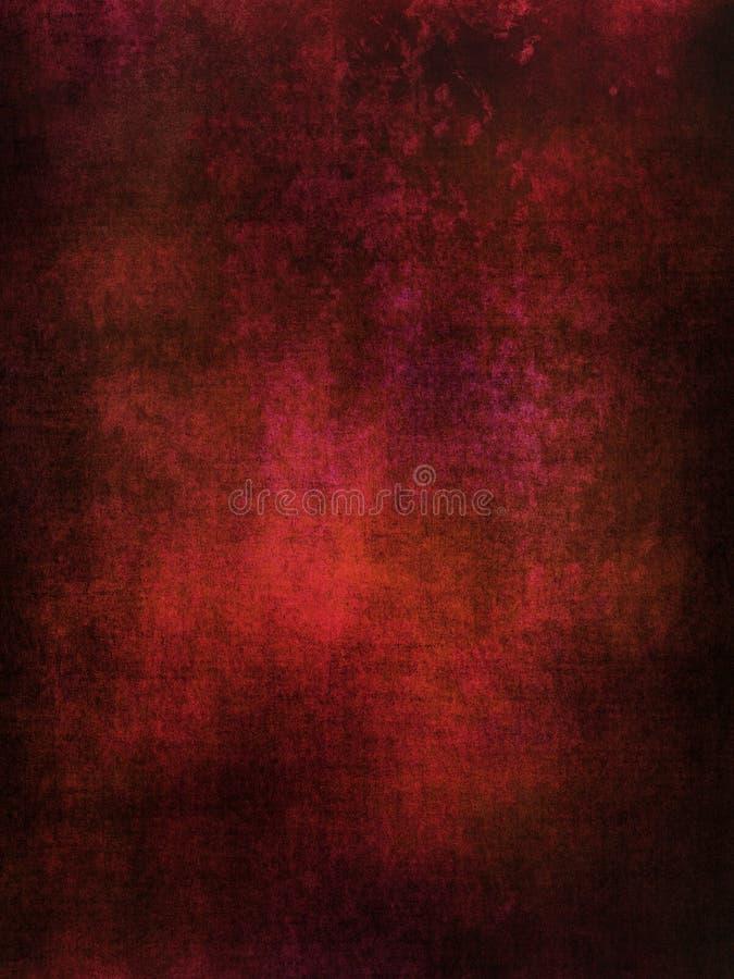 Red-brown grunge background stock illustration