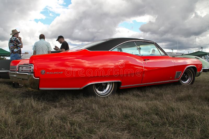 Red Buick Wildcat royalty free stock image
