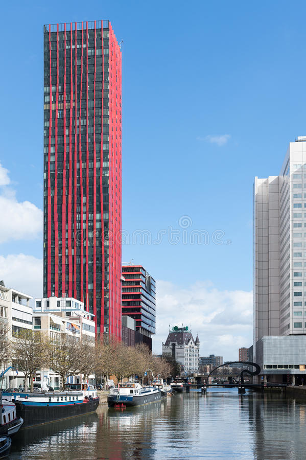 Download Red Building Rotterdam Editorial Photo. Image Of Cityscape    58919526