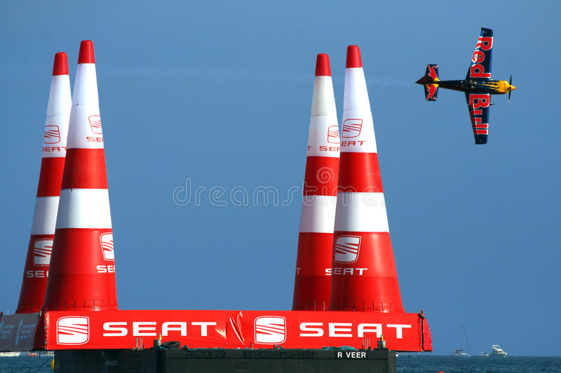 Red bull air race stock images