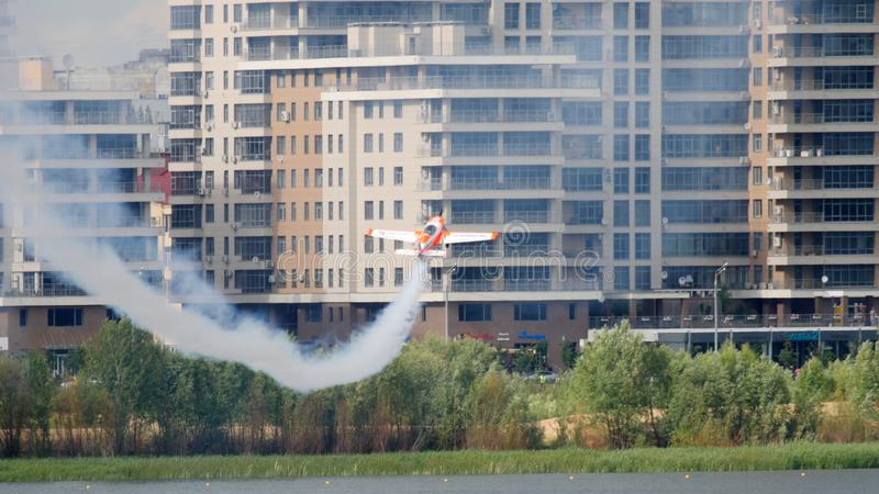 Red Bull Air Race World royalty free stock photography