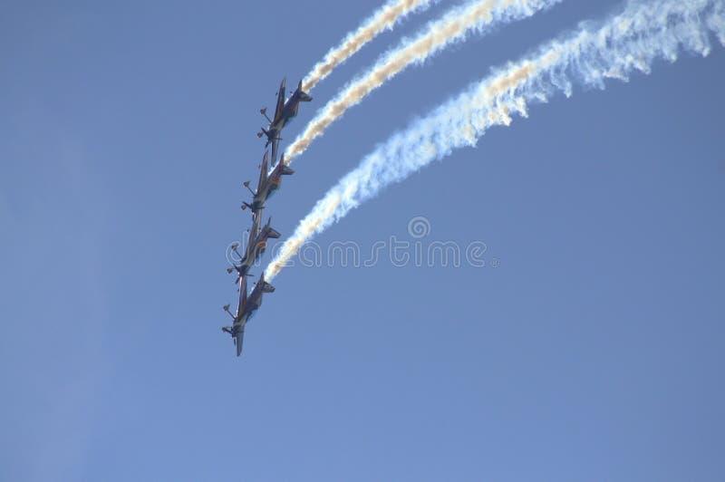 Red Bull Airshow aerobatics zdjęcia stock
