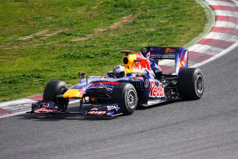 Red Bull F1 stock photos