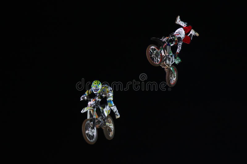 Download Red Bull X-Fighters editorial photography. Image of flight - 26618527