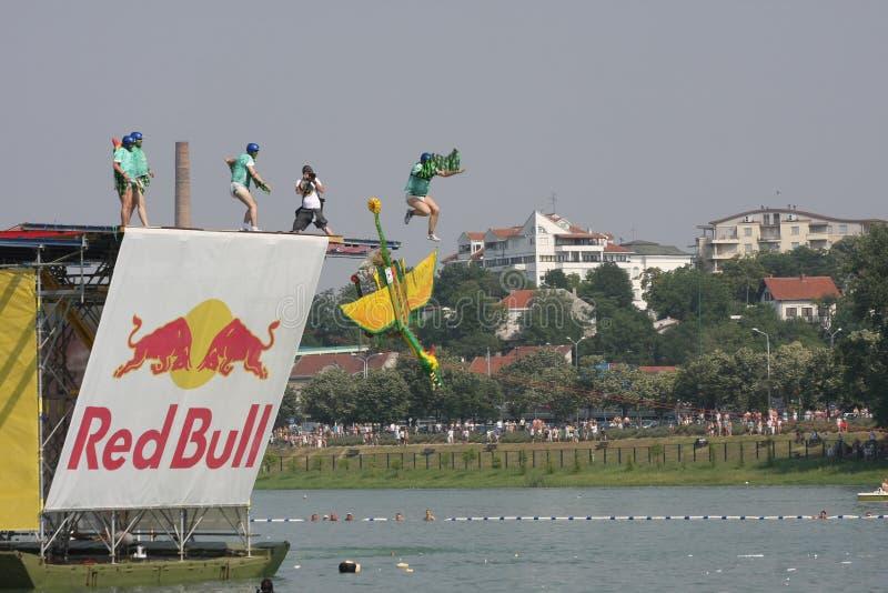 Red Bull Flugtag zdjęcie stock