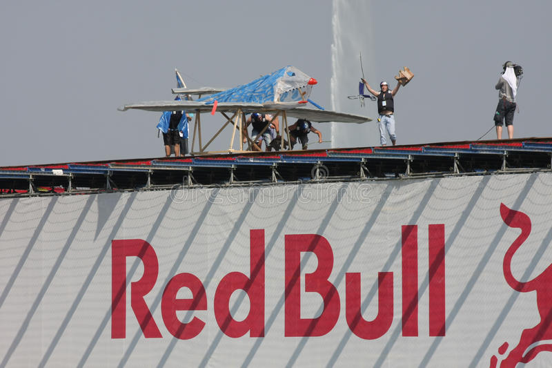 Red Bull Flugtag obraz stock