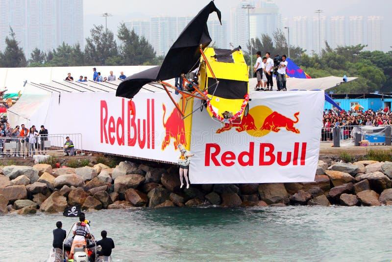 Red Bull Flugtag Hongkong 2010 stock afbeeldingen