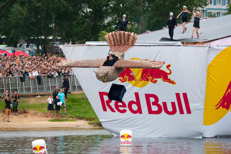 Download Red Bull Flugtag In Moscow 2013 Editorial Photography - Image: 32612697
