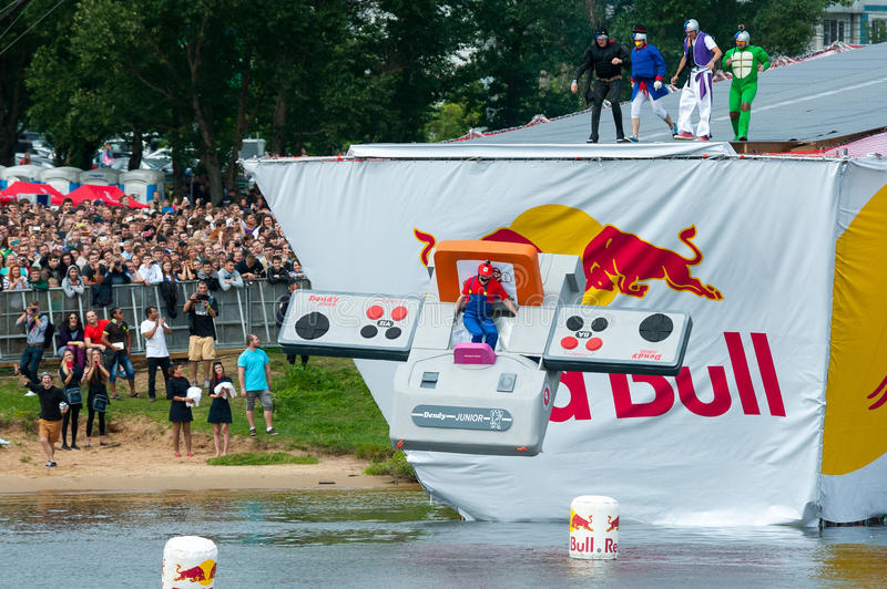 Red Bull Flugtag in Moscow 2013