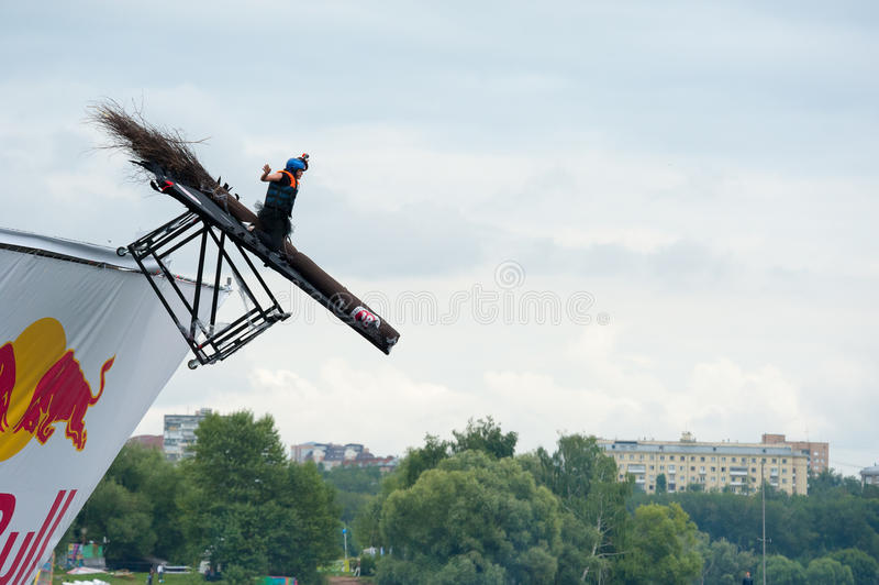 Download Red Bull Flugtag In Moscow 2013 Editorial Photo - Image: 32612791