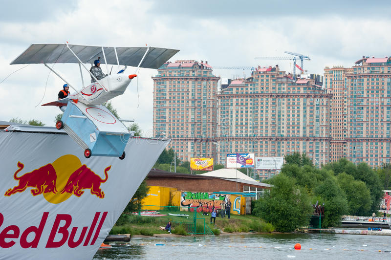 Download Red Bull Flugtag In Moscow 2013 Editorial Stock Photo - Image: 32612993