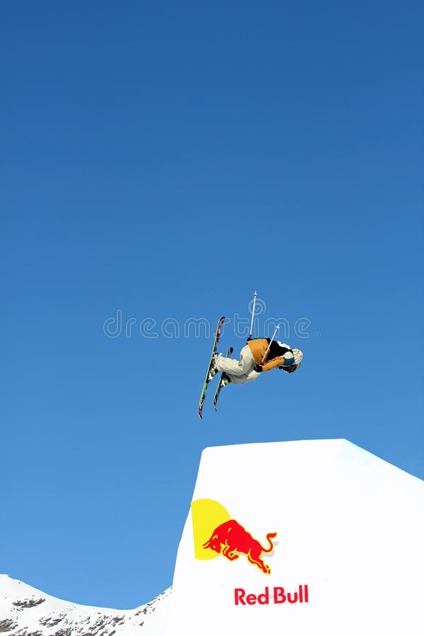 Red Bull Freestyle jump