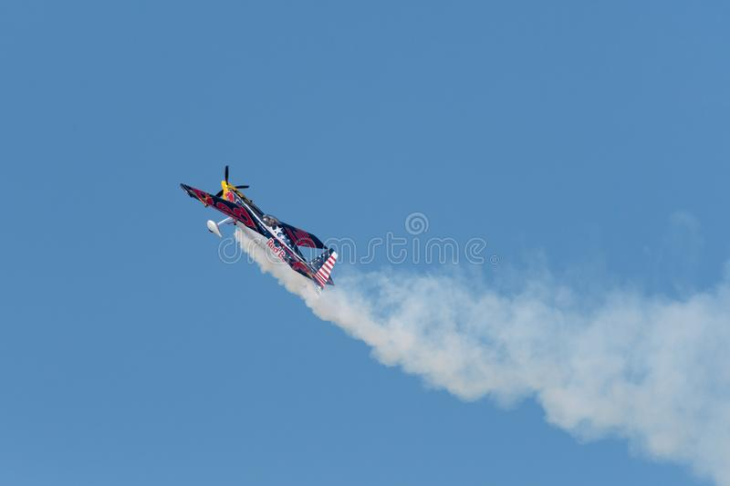 Red Bull Kirby Chambliss – Edge 540 stock photography