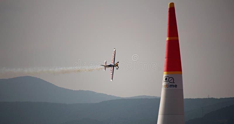 Red Bull powietrza rasa - Wiener Neustadt zdjęcie stock