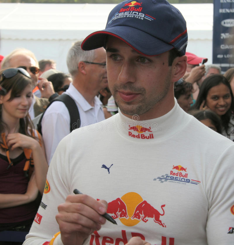 Red Bull Racing Neel Jani royalty free stock photos