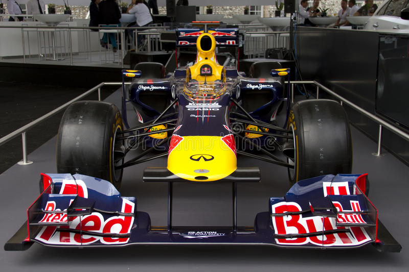 Red Bull RB7 F1 racing car royalty free stock image