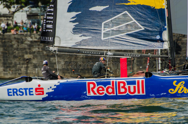 Download Red Bull Sailing Team Compete Editorial Stock Photo - Image of navigation, series: 25609583