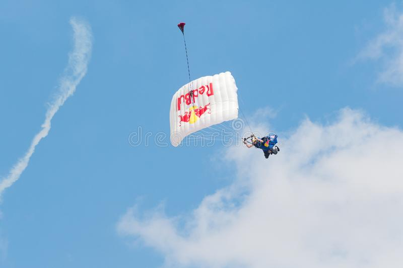 Red Bull Swoopers – Jump Team stock images