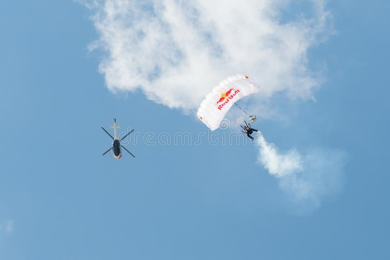 Red Bull Swoopers – Jump Team stock photo