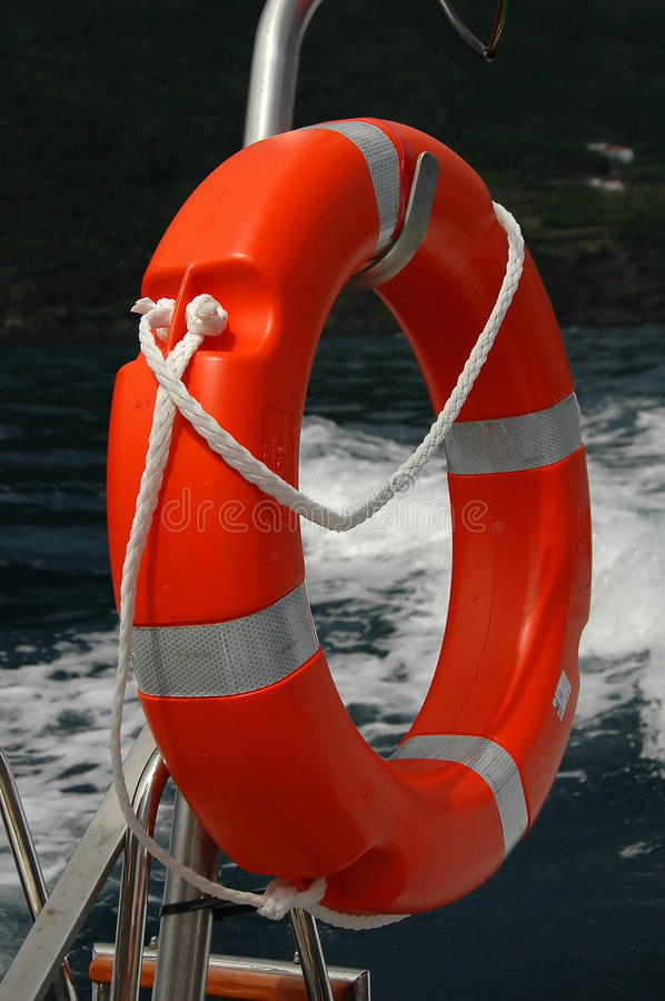Download Red Buoy stock image. Image of powerboat, rope, ring, life - 2091965