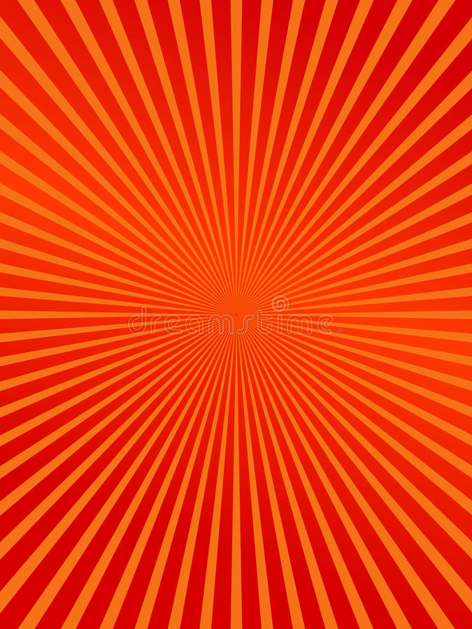 Red burst abstract background royalty free illustration