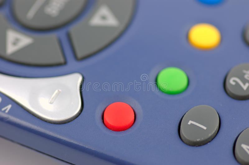 Download The Red Button stock photo. Image of press, remote, programme - 12202252