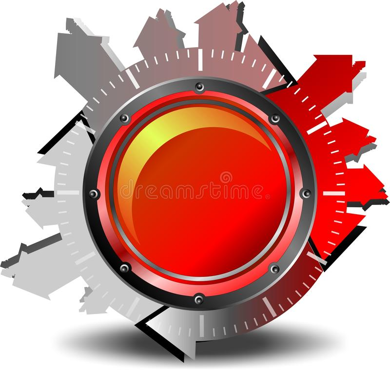 Download Red Button Download Stock Images - Image: 23110804