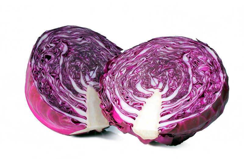 Red Cabbage 2 royalty free stock photos