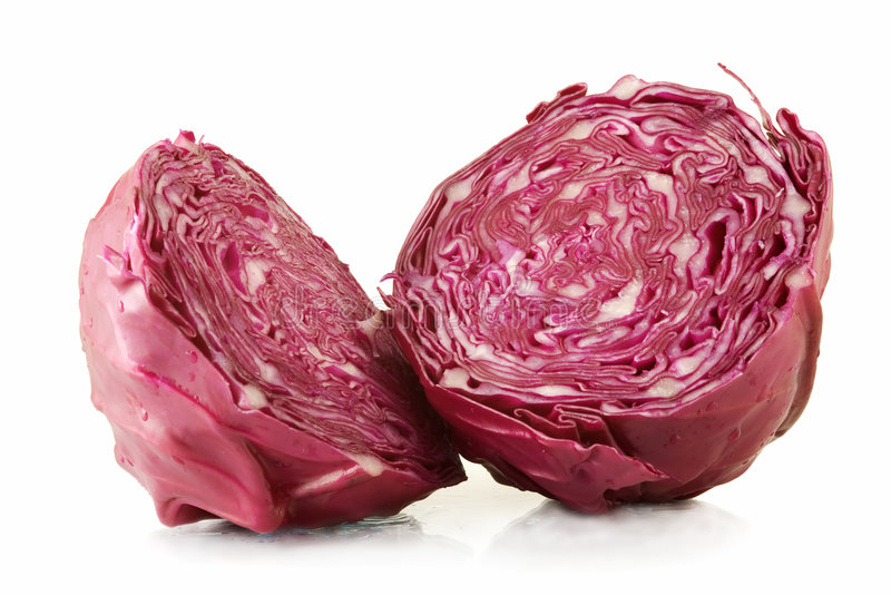 Red Cabbage stock photos