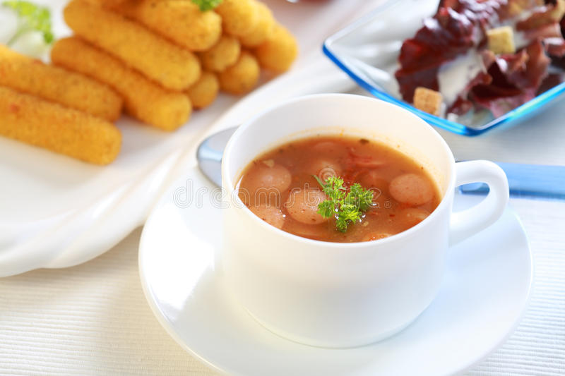 Red Cabbage Soup Stock Photos