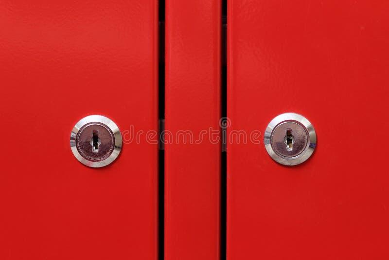 Download Red cabinet door stock image. Image of modern, forbidden - 23820273