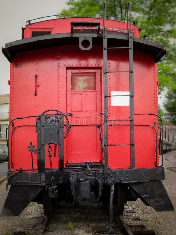 Free Red Caboose Stock Photography - 42660822