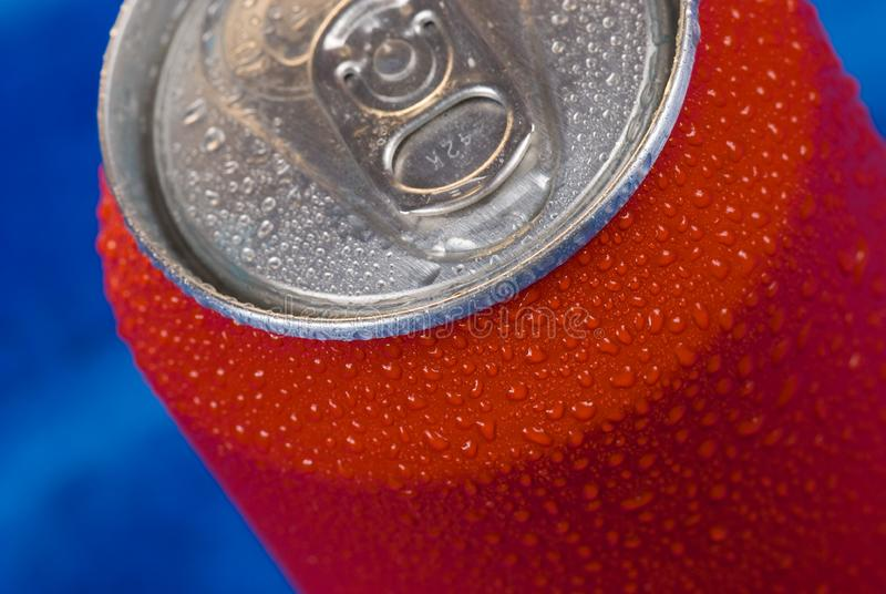 Red can stock photography