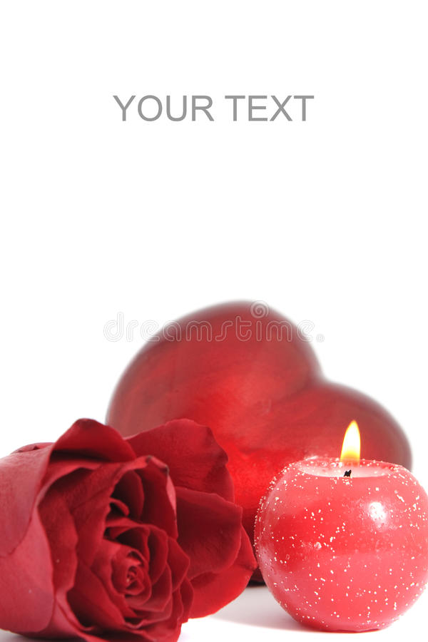 Free Red Candle Stock Photo - 12617230